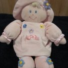 Kids Preferred Plush Doll in Pink Dress with flowers
