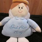 Baby Ganz 'God Bless Baby' Plush Angel Rattle