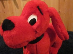 Clifford the Big Red Dog Toy Plush Dog