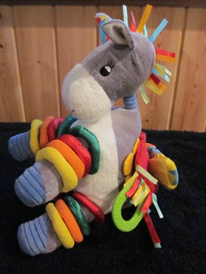 Jelly Kitten Plush Horse Plush Activity Toy