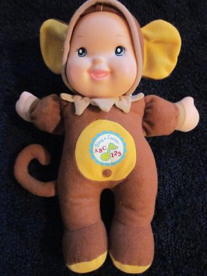 Goldberger Sing &amp; Learn Doll dressed as a Monkey