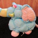 Vintage 1990 Prestige Toy nylon Elephant 9055