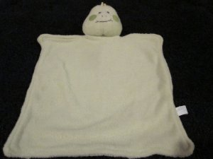 Russ Baby Green Frog terry Security Blanket