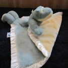 My Banky Green Frog Security Blanket named Paddy