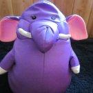 Moshi purple Elephant Microbead Plush Lovey Pillow