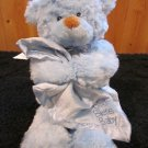 baby Gund Blue Plush Bear God Bless Baby  Musical Melody Praise 58424