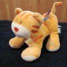 Taggies Mary Meyer baby Plush Tiger with 6 colorful tags