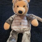 Disney Plush Pooh Bear dressed as a snake from Winnie the Pooh