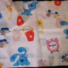 Blues Clues  Valance Curtains White background with all the characters