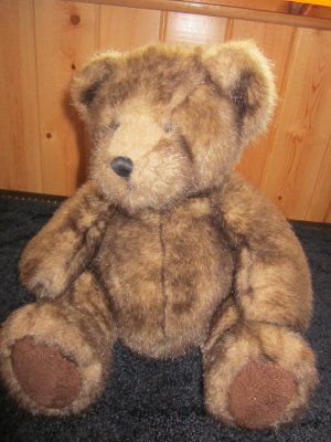 Russ Berrie Brown Teddy Bear Named Danny