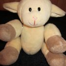 SwaPets Magnetic Jointed Plush Cream Tan Lamb