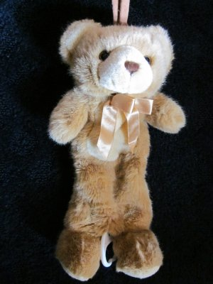 Small Fry Design Golden brown Plush Bear Musical Crib toy