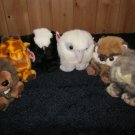 Six Puffkins New with tags Plush animals