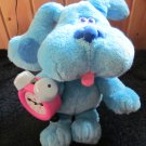 Tyco 1998 Plush Talking Blues Clues Dog with Tickety