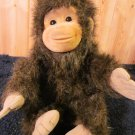 1994 Hosung Plush Monkey chimp Brown Furry