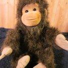 1994 Hosung Plush Monkey chimp Brown Furry