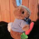 Eden Beatrix Potter Plush Peter Rabbit holding a carrot Frederick Warne
