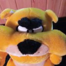 TonyToy Plush Yellow Bull Dog Item #PT1658 BullDog