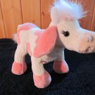 Webkinz Pink and White Plush Cow named Strawberry NO code
