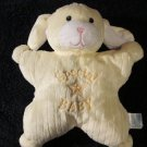 Kids Preferred Plush yellow puppy dog with Special Baby and star on it  Security Blanket
