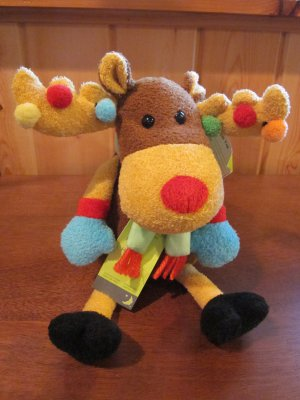Animal Adventure Holiday Humorous Plush Moose