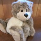 24K Polar Puff Brown Grey & Tan Plush Teddy Bear named Cory