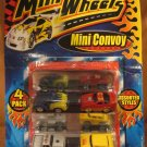 Die Cast Mini Micro Wheels Mini Convoy 4-Pack New cars trucks