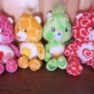 Care Bears Lot of Four All my heart, Love-a-lot, Funshine and Oopsy
