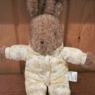 Carters Classics Tan Bunny rabbit in Pjs with bunnies all over If they could just stay little