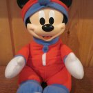 Mattel Plush Mickey Mouse Lights up Glow Night light