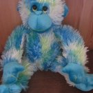 Princess soft Toys Plush Blue Green Monkey