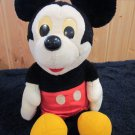 "Hasbro Softies Plush Mickey Mouse 14"""