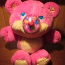 1987 Hot Pink Nosy Bear Funsy Balloon nose 10""