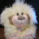 CPK Cabbage Patch Kids Plush Furry Dog with collar, leash and tag