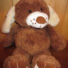 DanDee Plush brown Dog with freckles Floppy style