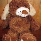 DanDee Plush brown Dog freckles Floppy style Dan Dee