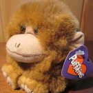 Puffkins Monkey named Amber Plush