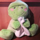 Russ Berrie Plush Toad or Frog named Dibbles Musical moving