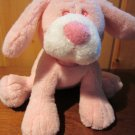 Baby Ganz Pink Plush Puppy Dog Called Lovable Puppy