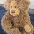 Loveheart Bears Plush Shaggy Brown Bear named Jasper