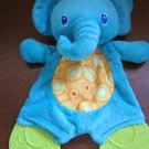 Bright Starts Plush Elephant Crinkles Rattles Teether Toy
