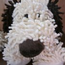 Stephan Cream colored Plush Puppy Dog Brown ears and nose