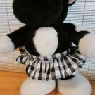 Yang Jee Plush Cow with Skirt and bow on head by Yangjee