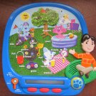 Blues Clues Electronic Educational Game Teaches Reading Identifying story telling silly sentences