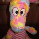 Royal Plush Colorful Dragon with stripes Lovey