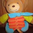 Kaloo Tan Teddy Bear Musical Crib pull Toy plays Rock a bye Baby
