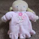Carter's Just One Year Doll Blonde Hair with Braids Plush Lovey