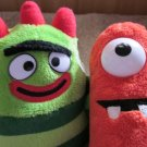 Yo Gabba Gabba Plush Muno and Brobee