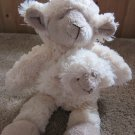 Plush Mama sheep with baby lamb