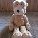 Boyds Collection super soft plush bear gold and yellow